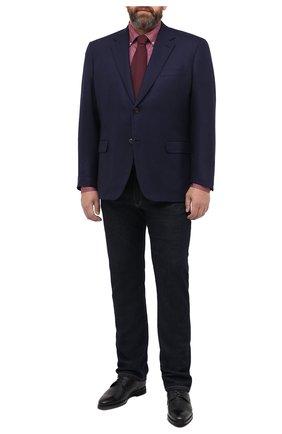 Мужской шерстяной пиджак BRIONI темно-синего цвета, арт. RGH00Z/09A4P/PARLAMENT0 | Фото 2