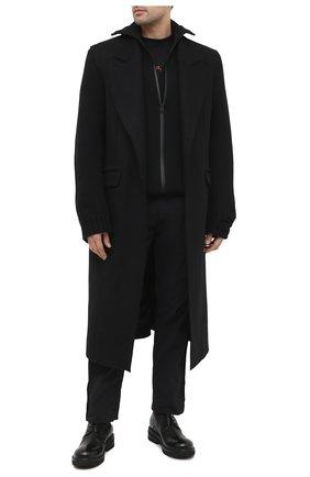 Мужские кожаные ботинки MARSELL черного цвета, арт. MM2961/PELLE VITELL0 | Фото 2
