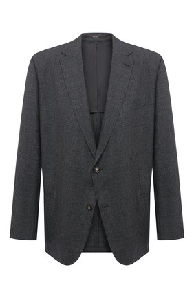 Мужской шерстяной пиджак WINDSOR серого цвета, арт. 13 GAR0N-U 10007931/60-66 | Фото 1