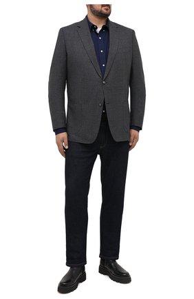 Мужской шерстяной пиджак WINDSOR серого цвета, арт. 13 GAR0N-U 10007931/60-66 | Фото 2