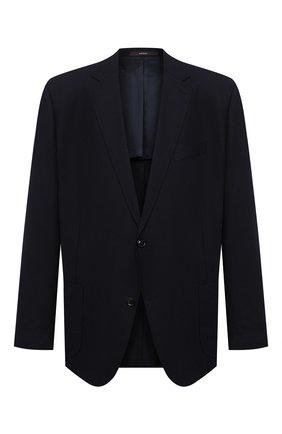 Мужской шерстяной пиджак WINDSOR синего цвета, арт. 13 GAR0N-U 10007931/60-66 | Фото 1