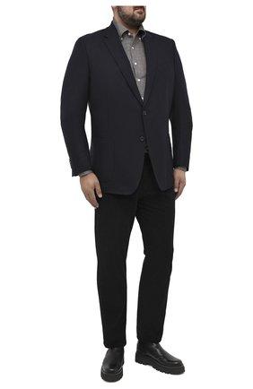 Мужской шерстяной пиджак WINDSOR синего цвета, арт. 13 GAR0N-U 10007931/60-66 | Фото 2