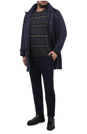 Мужские джинсы MARCO PESCAROLO темно-синего цвета, арт. CARACCI0L0/42J18 | Фото 2