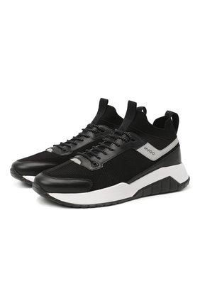 Мужские кроссовки HUGO черного цвета, арт. 50440277 | Фото 1