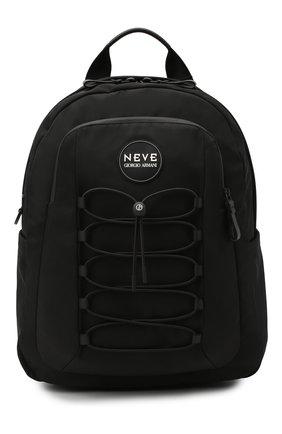 Мужской текстильный рюкзак GIORGIO ARMANI черного цвета, арт. Y20136/YI75V | Фото 1