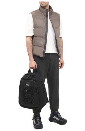 Мужской текстильный рюкзак GIORGIO ARMANI черного цвета, арт. Y20136/YI75V | Фото 2