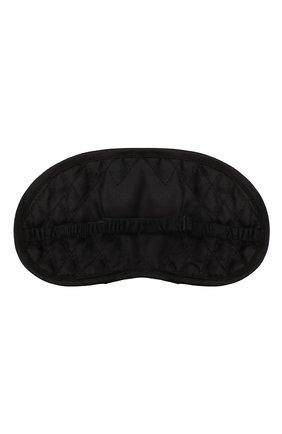Женские маска для сна VERSACE черного цвета, арт. ZMAS18104/ZSEP0186 | Фото 2