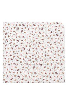 Детского хлопковая пеленка MAGNOLIA BABY красного цвета, арт. 969-80P-RD | Фото 1