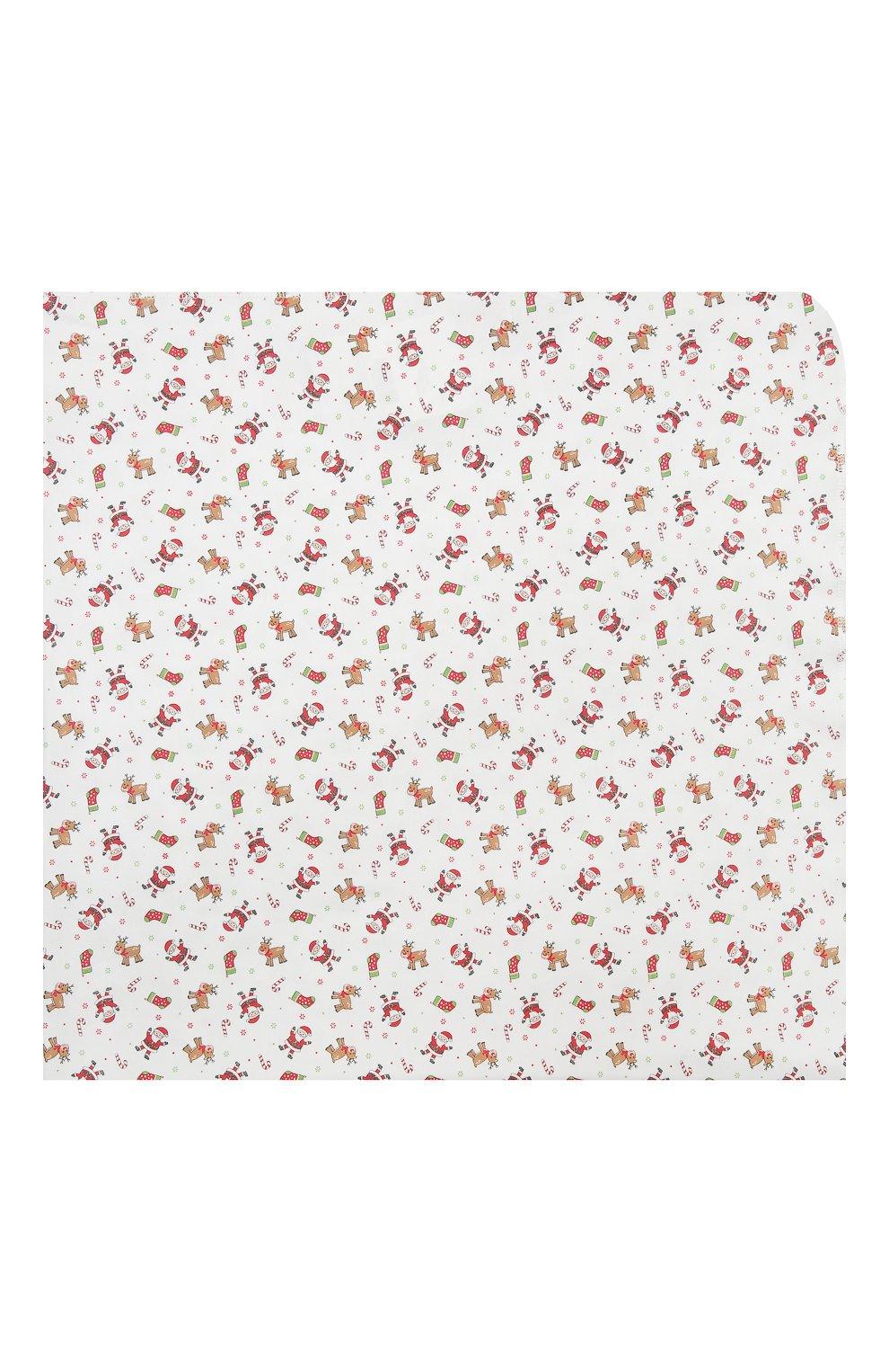 Детского хлопковая пеленка MAGNOLIA BABY красного цвета, арт. 969-80P-RD   Фото 3