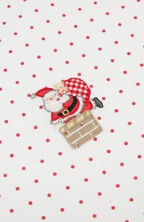 Детского хлопковая пеленка MAGNOLIA BABY красного цвета, арт. 101-52-RD | Фото 2