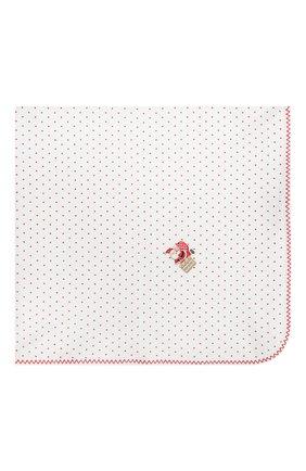 Детского хлопковая пеленка MAGNOLIA BABY красного цвета, арт. 101-52-RD   Фото 3