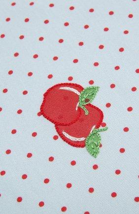 Детского хлопковая пеленка MAGNOLIA BABY красного цвета, арт. 774-62-RD | Фото 2