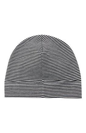 Детского хлопковая шапка MAGNOLIA BABY темно-синего цвета, арт. 835A-50-NV | Фото 2