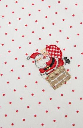 Детского хлопковая пеленка MAGNOLIA BABY красного цвета, арт. 101-62-RD | Фото 2