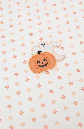 Детского хлопковая пеленка MAGNOLIA BABY оранжевого цвета, арт. 835-52-OR | Фото 2