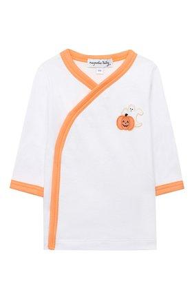 Детский комплект из распашонки и ползунков MAGNOLIA BABY оранжевого цвета, арт. 835-735-OR | Фото 2