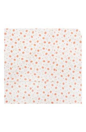 Детского хлопковая пеленка MAGNOLIA BABY оранжевого цвета, арт. 835-80P-OR | Фото 1