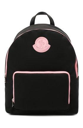 Детская рюкзак MONCLER черного цвета, арт. F2-954-5A701-00-549ZM   Фото 1