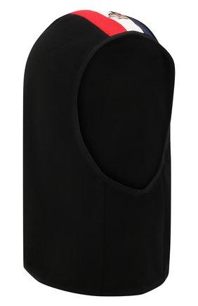Детского шапка-балаклава MONCLER черного цвета, арт. F2-954-3G700-00-80093 | Фото 1