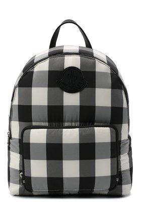 Детская рюкзак MONCLER черно-белого цвета, арт. F2-954-5A600-00-539YJ   Фото 1 (Материал: Текстиль)