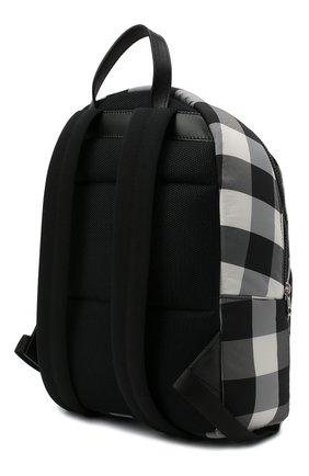 Детская рюкзак MONCLER черно-белого цвета, арт. F2-954-5A600-00-539YJ   Фото 2 (Материал: Текстиль)