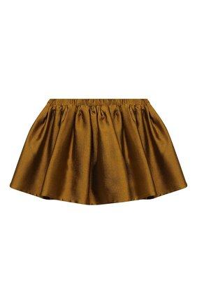 Детская юбка DOUUOD золотого цвета, арт. 20I/U/JR/G005/1357/10A-14A | Фото 1