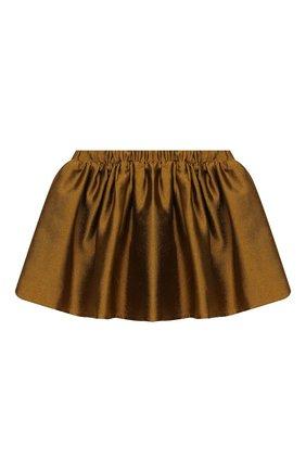 Детская юбка DOUUOD золотого цвета, арт. 20I/U/JR/G005/1357/10A-14A | Фото 2