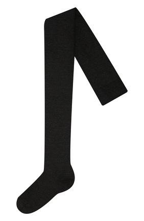 Детские утепленные колготки FALKE темно-серого цвета, арт. 13488 | Фото 1