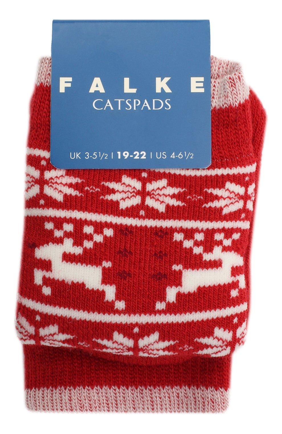 Детские носки FALKE красного цвета, арт. 12937. | Фото 1