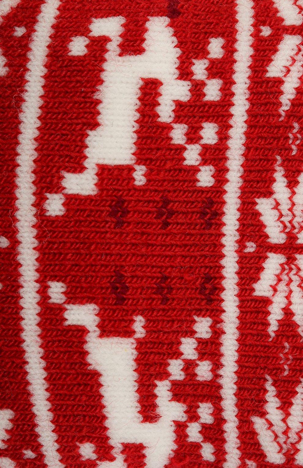 Детские носки FALKE красного цвета, арт. 12937. | Фото 2