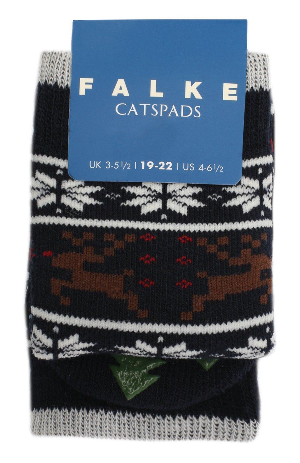 Детские носки FALKE синего цвета, арт. 12937. | Фото 1