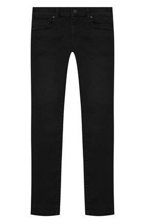 Детские джинсы KARL LAGERFELD KIDS черного цвета, арт. Z24105   Фото 1