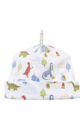 Детского хлопковая шапка KISSY KISSY разноцветного цвета, арт. KB504622N | Фото 1 (Материал: Хлопок, Текстиль)