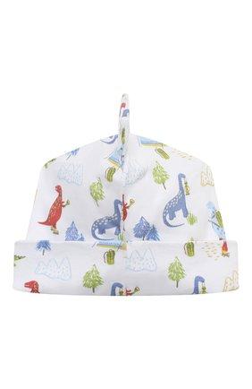 Детского хлопковая шапка KISSY KISSY разноцветного цвета, арт. KB504622N | Фото 2 (Материал: Хлопок, Текстиль)