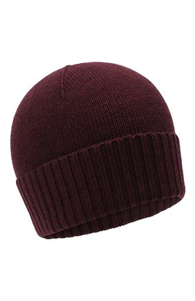 Детского шерстяная шапка RALPH LAUREN бордового цвета, арт. 323773426 | Фото 1