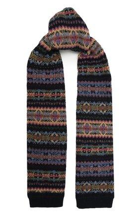 Детский шарф из шерсти и хлопка RALPH LAUREN разноцветного цвета, арт. 313800004   Фото 1