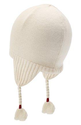 Детского шерстяная шапка RALPH LAUREN бежевого цвета, арт. 313761685 | Фото 2
