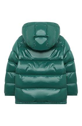 Детский пуховая куртка RALPH LAUREN зеленого цвета, арт. 321795538 | Фото 2