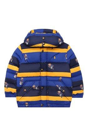 Детский пуховая куртка POLO RALPH LAUREN разноцветного цвета, арт. 321797761 | Фото 1