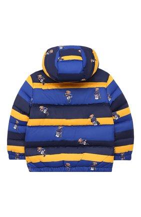 Детский пуховая куртка POLO RALPH LAUREN разноцветного цвета, арт. 321797761 | Фото 2