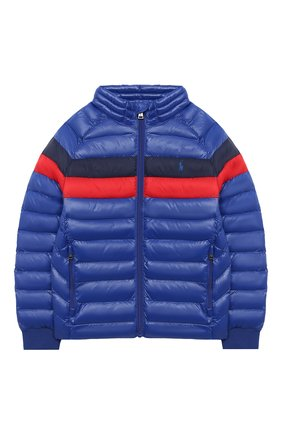 Детский куртка POLO RALPH LAUREN синего цвета, арт. 322795536 | Фото 1