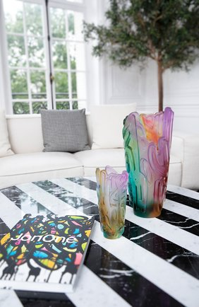 Ваза crystal rock ii DAUM разноцветного цвета, арт. 05690 | Фото 2