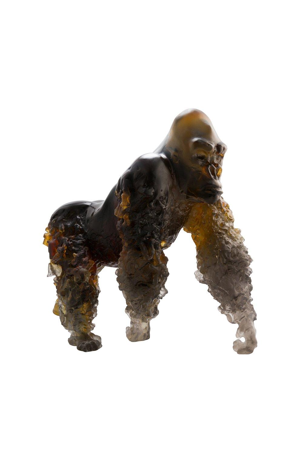 Мужского скульптура горилла DAUM коричневого цвета, арт. 05703 | Фото 1