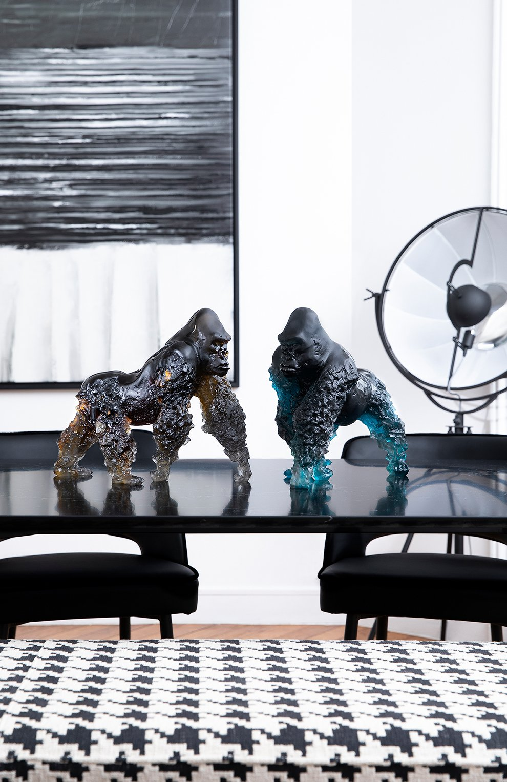 Мужского скульптура горилла DAUM коричневого цвета, арт. 05703 | Фото 2