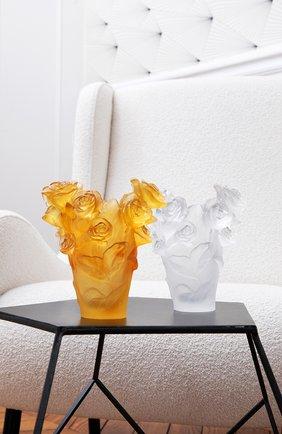 Мужского ваза roses DAUM желтого цвета, арт. 05287-8 | Фото 2