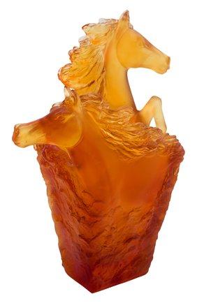 Мужского стакан для ручек cavalcade DAUM оранжевого цвета, арт. 05715-1 | Фото 1
