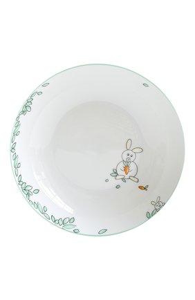Мужского набор  из суповой тарелки и стаканчика petit boulingrin BERNARDAUD зеленого цвета, арт. 1755/6009 | Фото 2