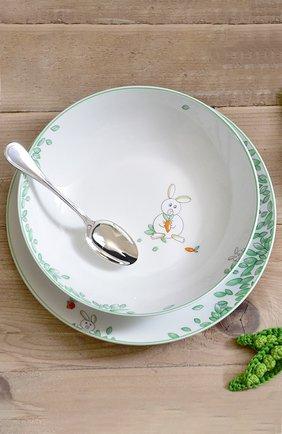 Мужского набор  из суповой тарелки и стаканчика petit boulingrin BERNARDAUD зеленого цвета, арт. 1755/6009 | Фото 4