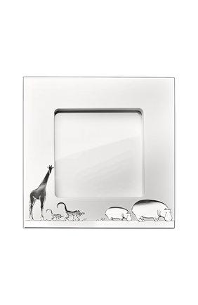 Рамка для фотографий  savane CHRISTOFLE серебряного цвета, арт. 04256985   Фото 2