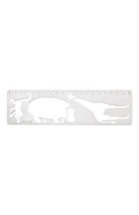 Мужского линейка savane CHRISTOFLE серебряного цвета, арт. 04250455   Фото 1